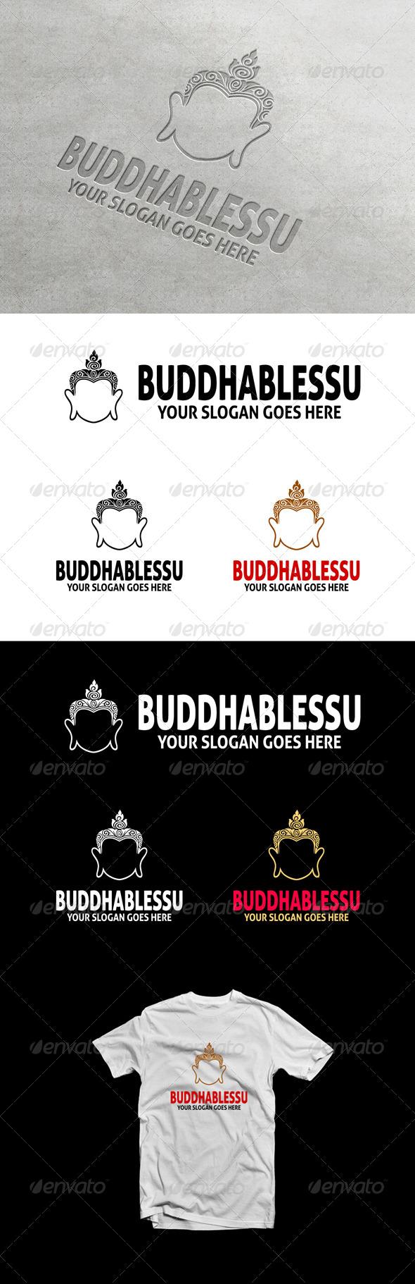 BuddhaBlessU Logo - Symbols Logo Templates