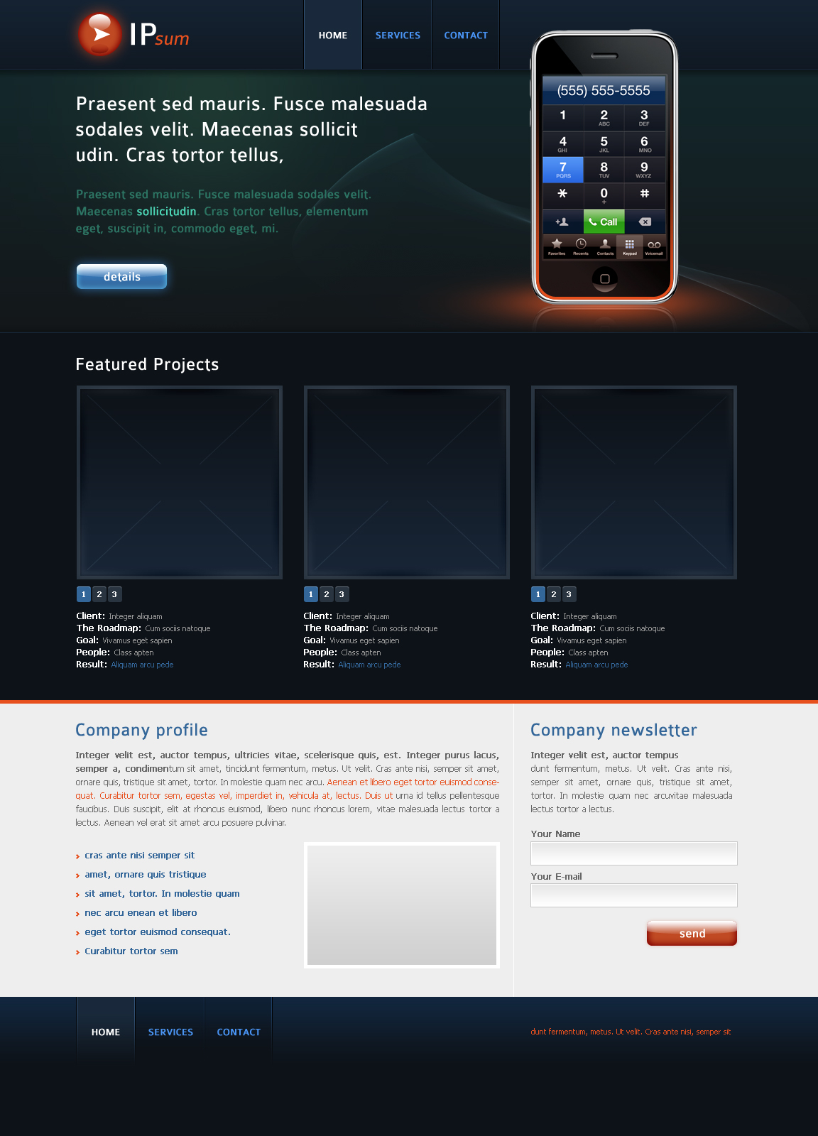 Free Download Business Electronics Website Layout Nulled Latest Version