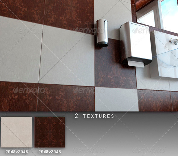 Professional Ceramic Tile Collection C085 - 3DOcean Item for Sale