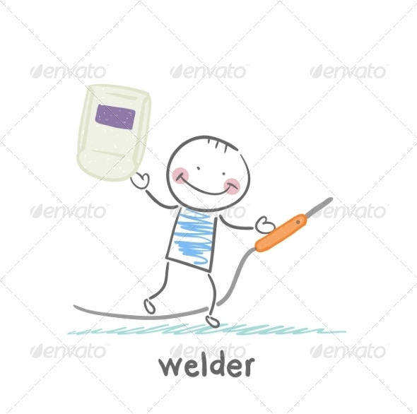 Welder - People Characters