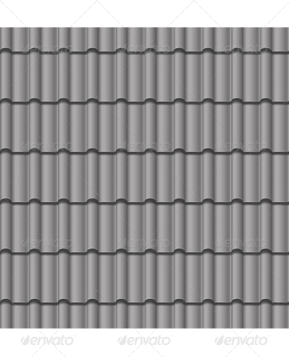 Roof tile seamless background by roxiller graphicriver for Roof tile patterns