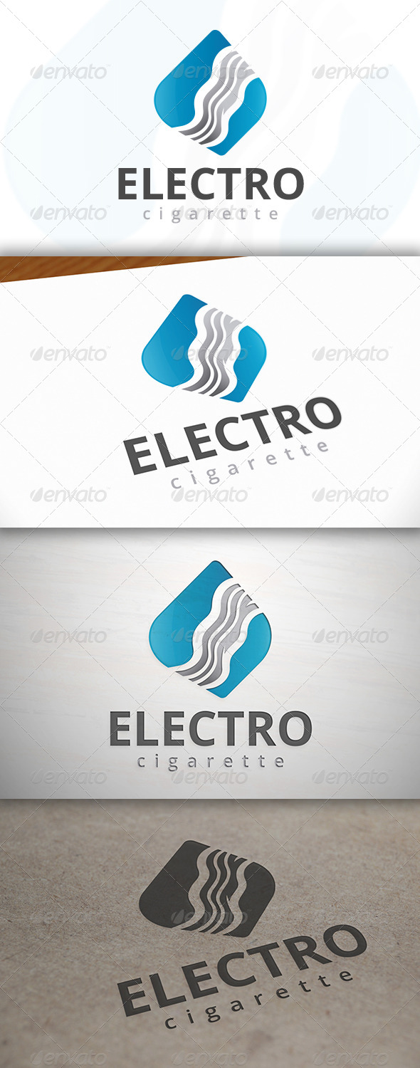 Ecigarette Logo - Vector Abstract