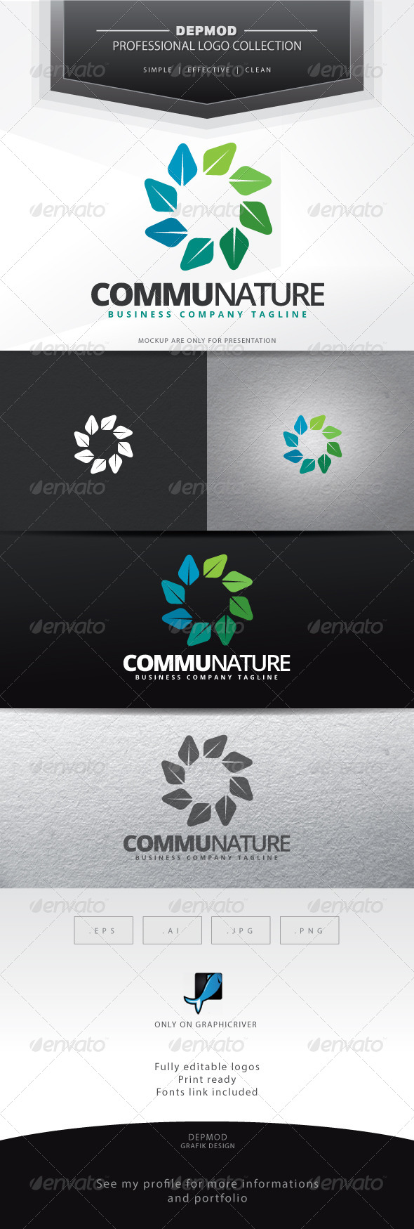 Communature Logo - Symbols Logo Templates