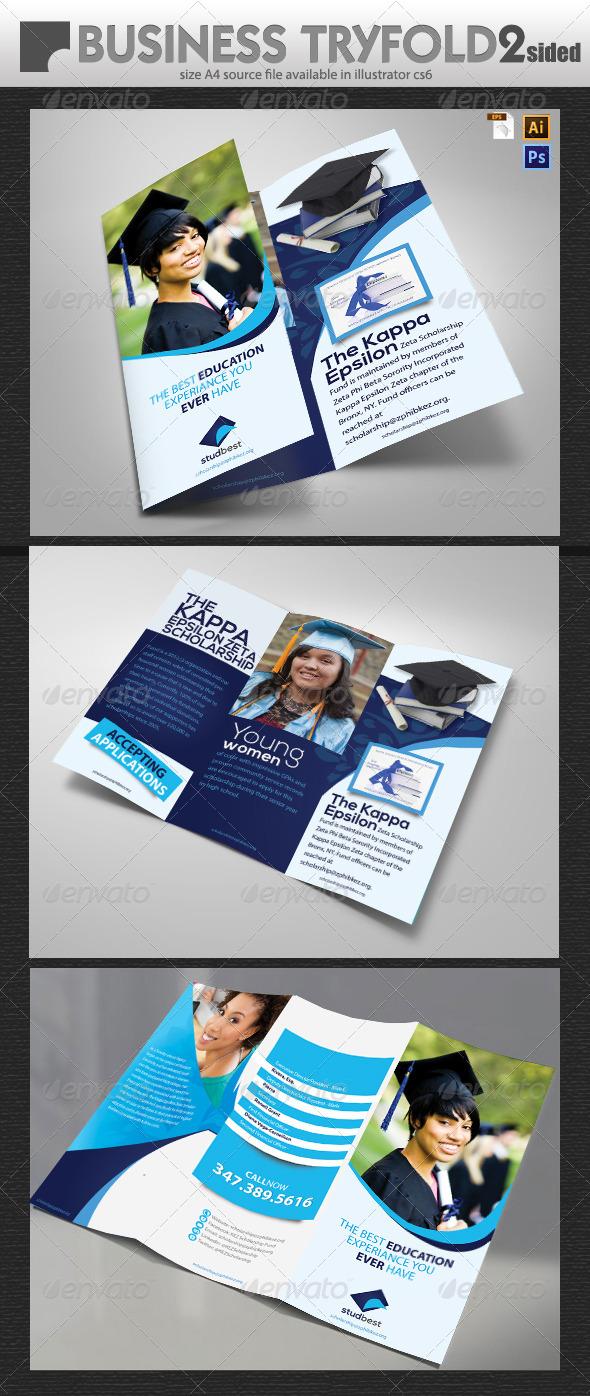 Educational Brochure Design  - Brochures Print Templates