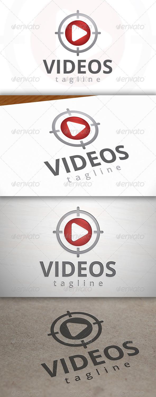 Video Target Logo - Symbols Logo Templates
