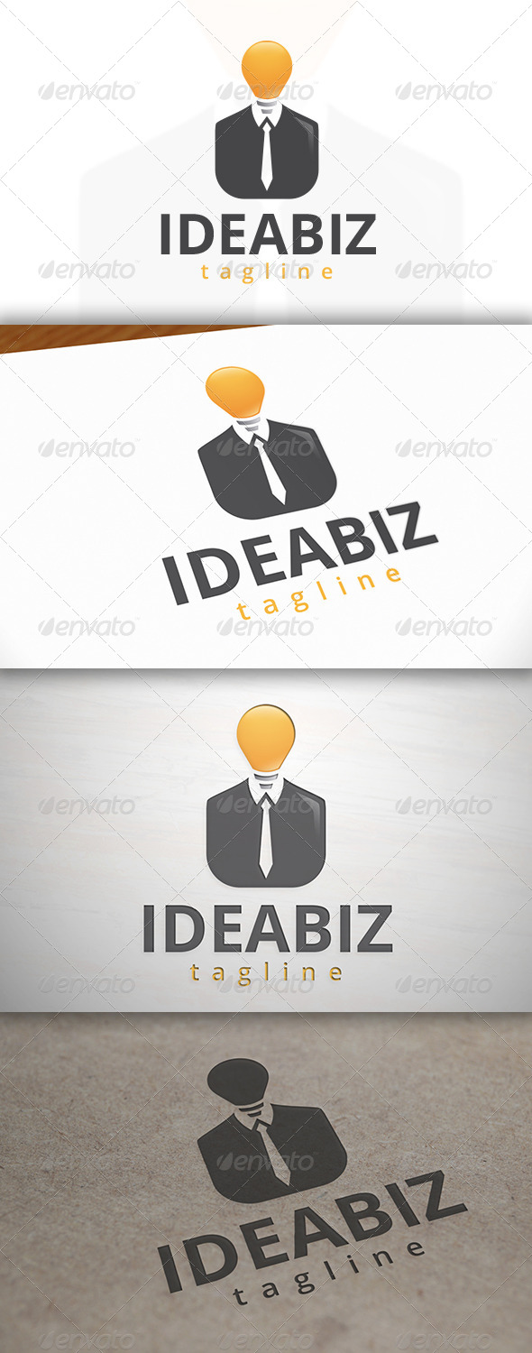 Idea Business Logo - Humans Logo Templates