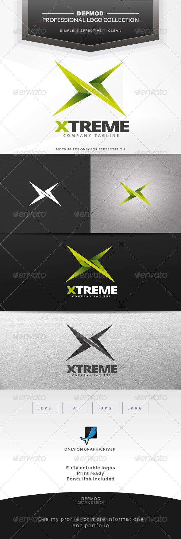 Xtreme Logo - Letters Logo Templates