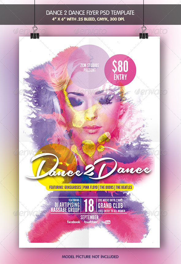 Dance to Dance - Clubs & Parties Events