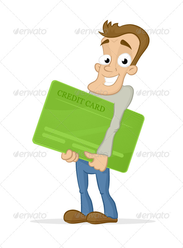 My New Credit Card - People Characters