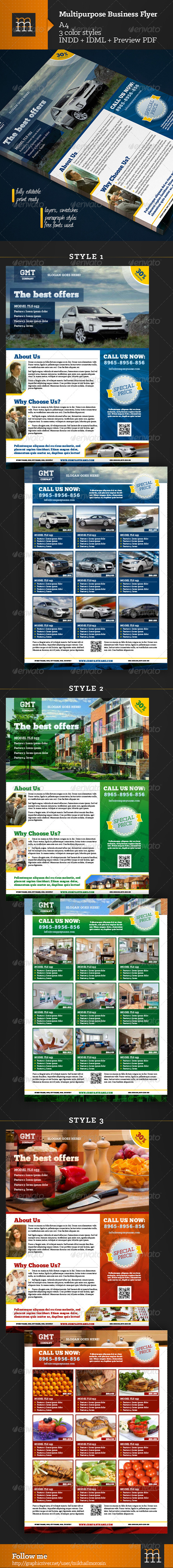 Multipurpose Business Flyer - Commerce Flyers