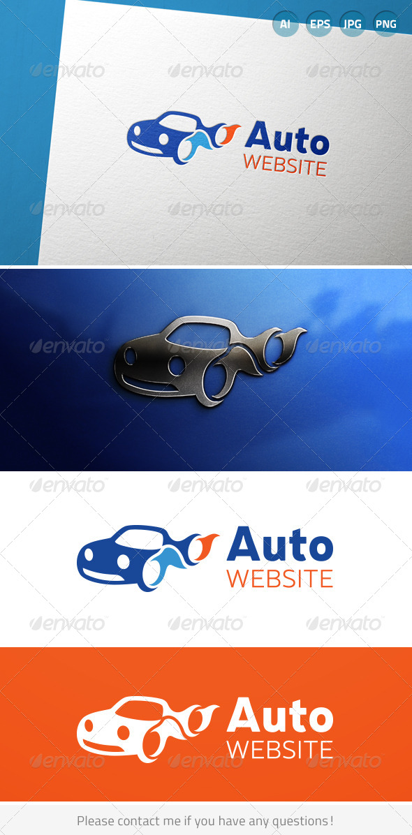 Automotive Car Vehicle Driving Logo - Symbols Logo Templates