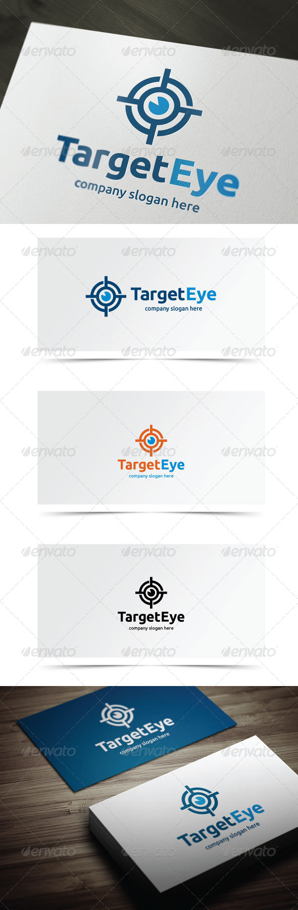 Target Eye - Objects Logo Templates