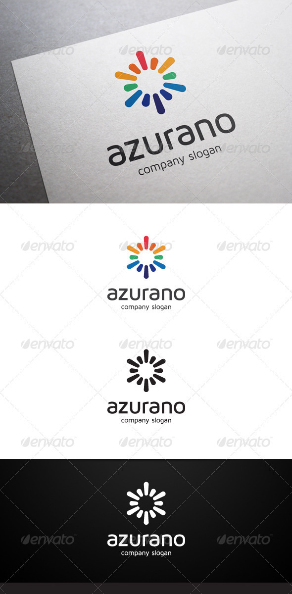 Azurano Logo - Abstract Logo Templates