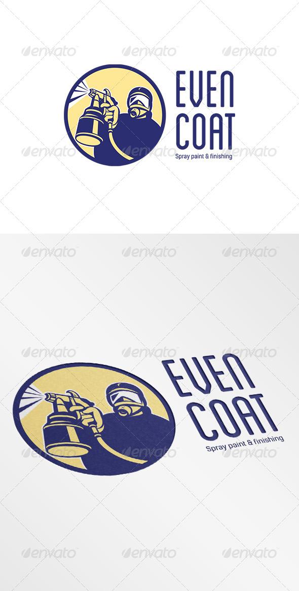 Even Coat Spray Paint Logo - Humans Logo Templates