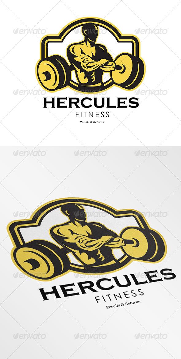 Hercules Fitness Logo - Humans Logo Templates