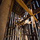 Sunshine and Shadows in a Old Barn  - VideoHive Item for Sale