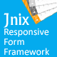 Jnix Responsive Form Framework - CodeCanyon Item for Sale