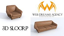 SLOORP 3D Design study