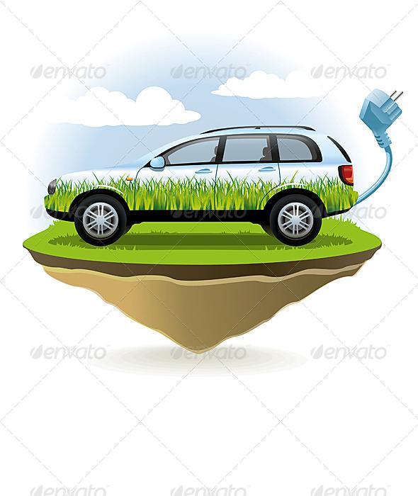 Eco Car - Conceptual Vectors