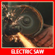 Electric Saw Grinder - VideoHive Item for Sale