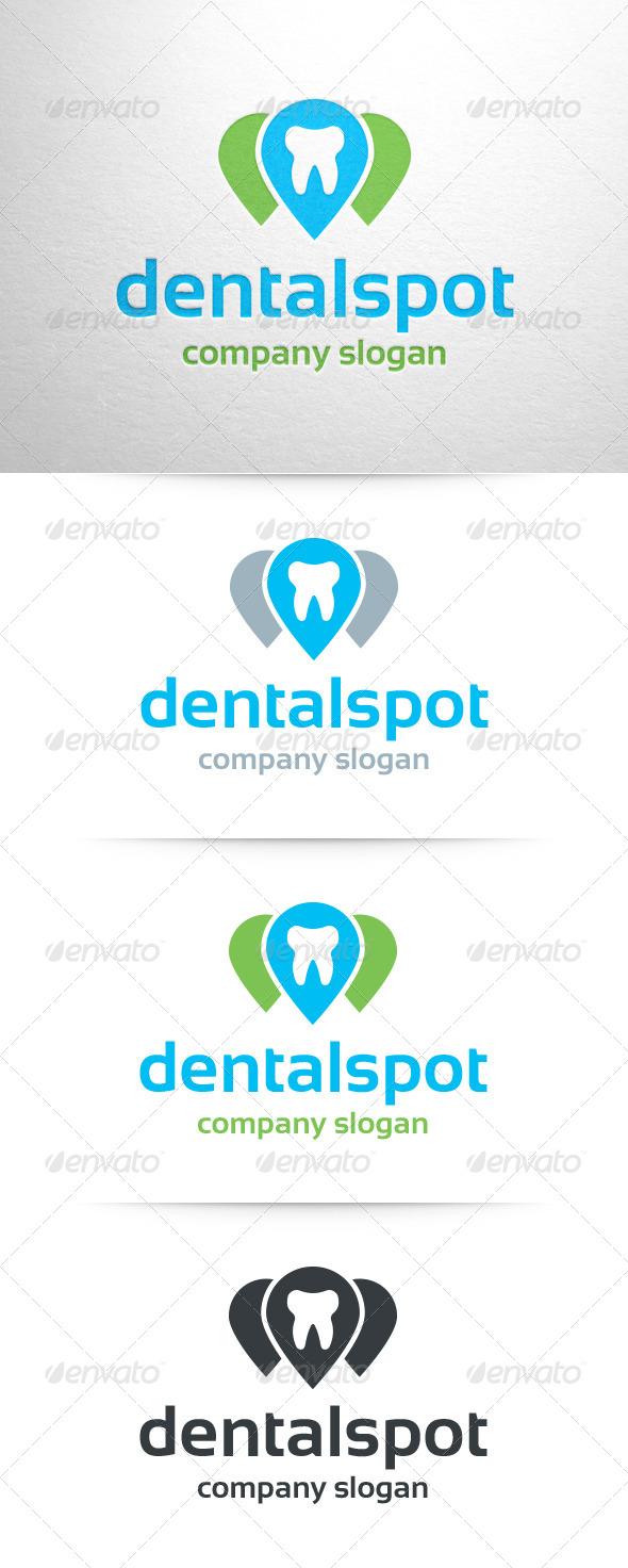 Dental Spot Logo - Symbols Logo Templates
