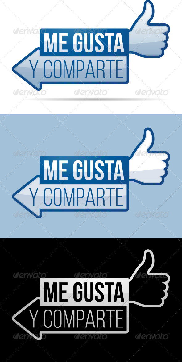 Me Gusta Y Comparte - Web Technology