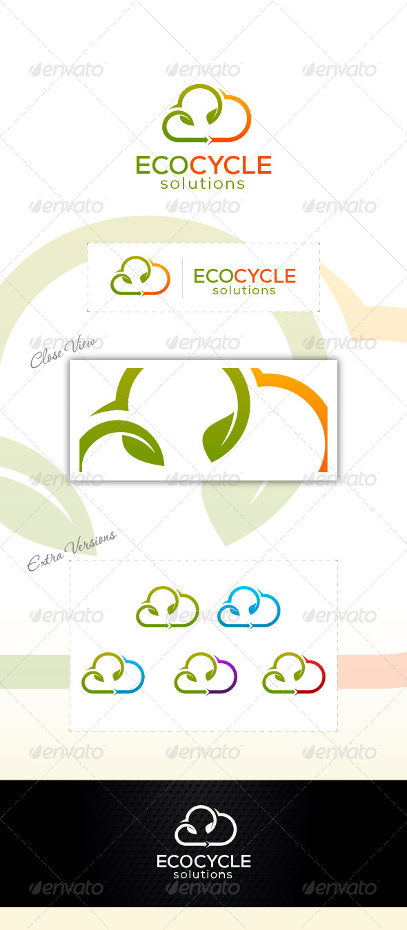 Eco Recycle - Nature Logo Templates