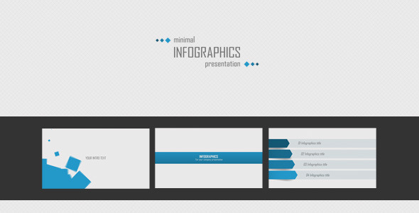 minimal infographics presentationazzarta | videohive, Powerpoint templates