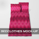 Bedclothes Mock-Up - GraphicRiver Item for Sale