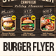 Burger Flyer YMC Design - GraphicRiver Item for Sale