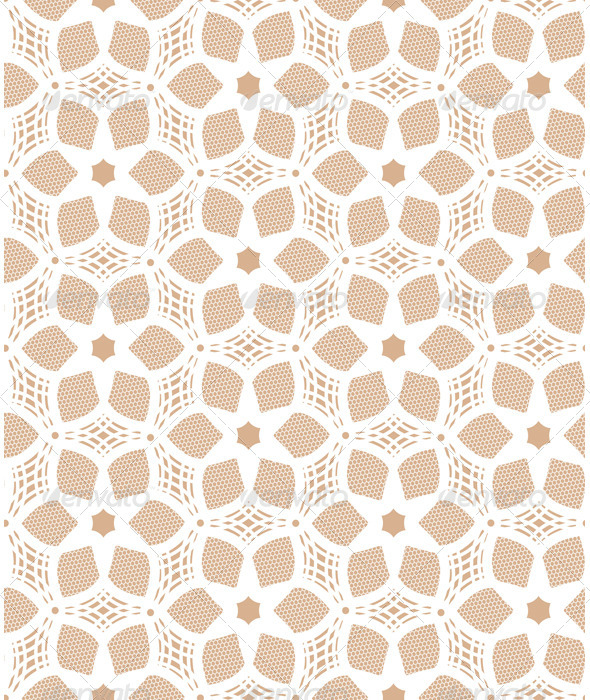 Seamless Lace Pattern - Backgrounds Decorative