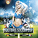 Soccer Cup 2014 Flyer with Fixture - Eng, Spa - GraphicRiver Item for Sale
