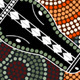Aboriginal Style Dot Painting of Crocodile - GraphicRiver Item for Sale