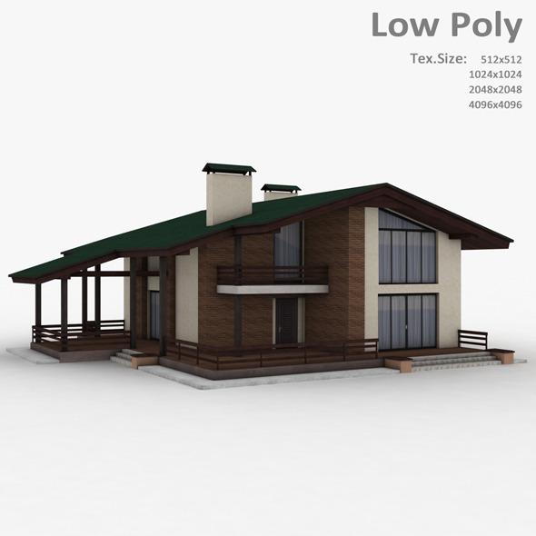 Building 016 - 3DOcean Item for Sale