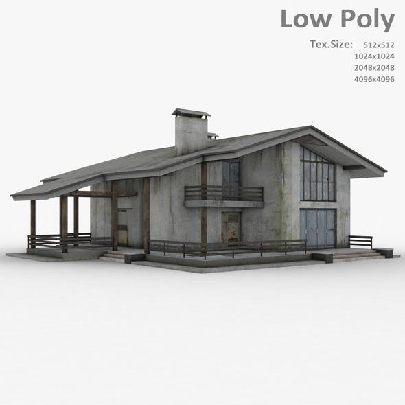 Building 017 - 3DOcean Item for Sale