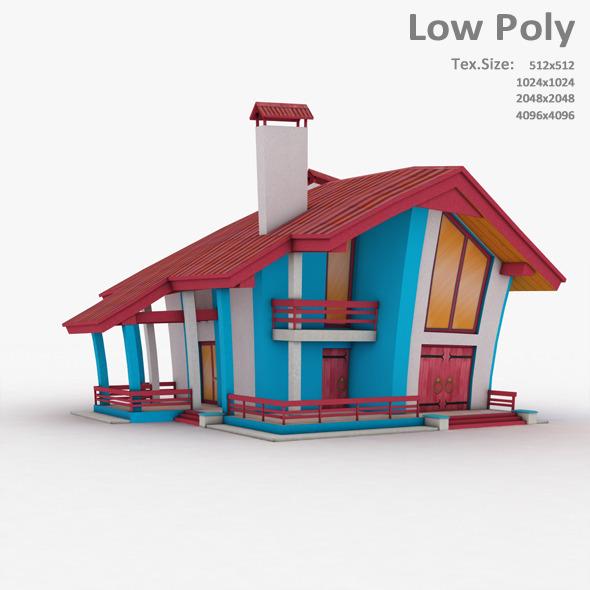 Building 018 - 3DOcean Item for Sale