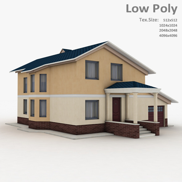 Building 019 - 3DOcean Item for Sale