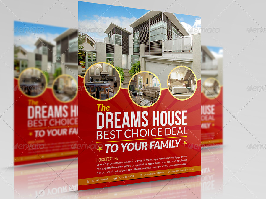 Flyer Template For Advertising Duplex Peopledavidjoel