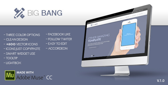 Big Bang Muse Template