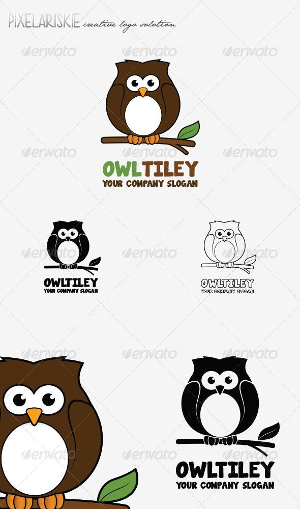 Owltiley Animal Logo - Animals Logo Templates
