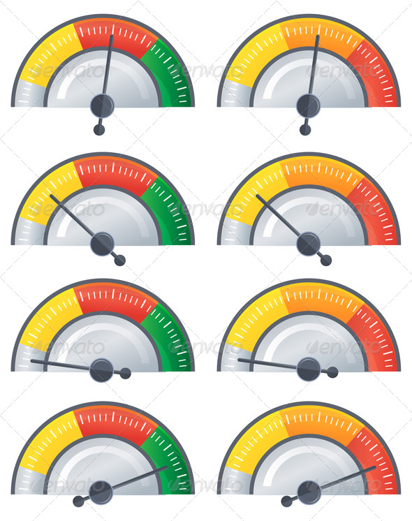 Performance Meter - Illustration - Concepts Business