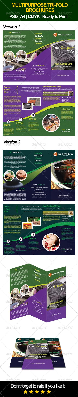 Multipurpose Brochure - Informational Brochures