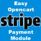 Easy Opencart Stripe Payment Module