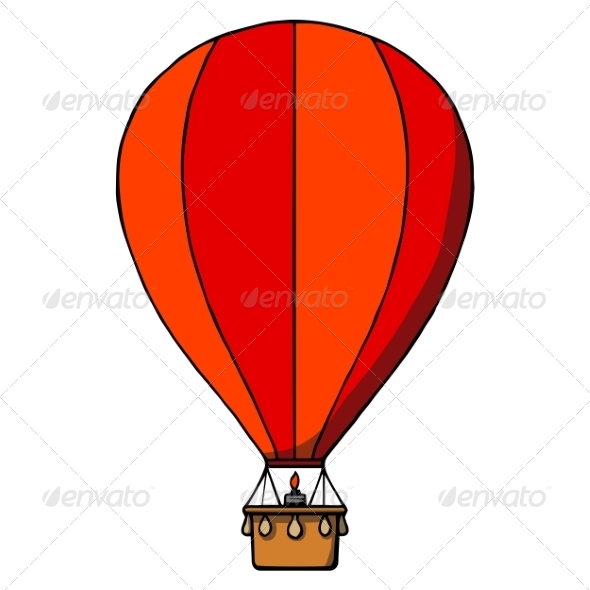 Hot Air Balloon - Man-made Objects Objects
