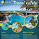 World Travel Tourism Marketing Flyer Template - GraphicRiver Item for Sale