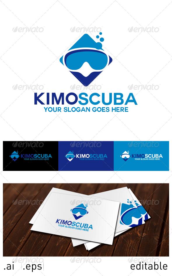 Kimo Scuba Logo Template - Objects Logo Templates