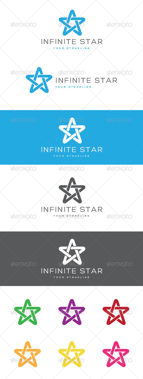 Infinite Star Logo - Symbols Logo Templates