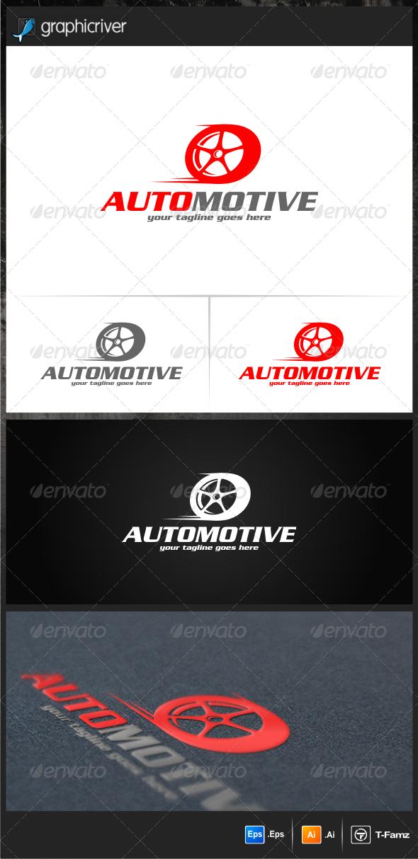 Automotive Logo Templates - Objects Logo Templates