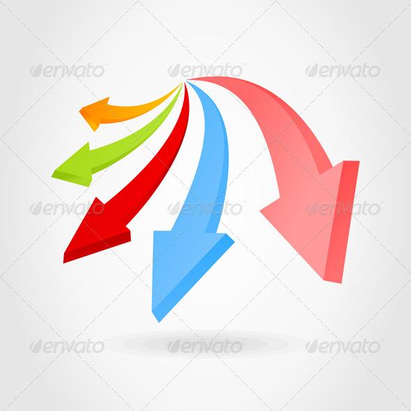 Arrow an icon - Miscellaneous Vectors