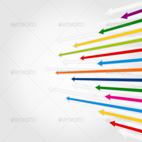 Background of Arrows 4 - Backgrounds Decorative